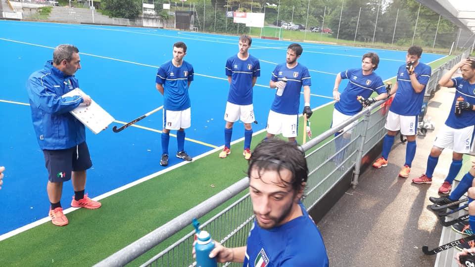 Alberto Ughetto ancora impegnato con la nazionale senior